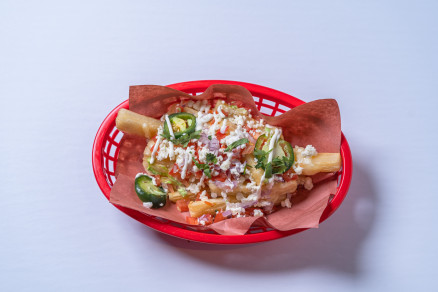 Loaded Yuca Fries
