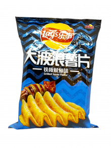 Lay's - Chips au calamar grillé / Grilled squid chips