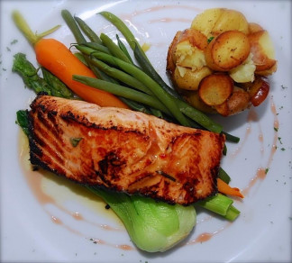 Filet de saumon de l' Atlantique / Atlantic salmon
