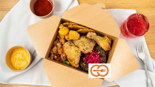 Combo Poulet frit 3 / 3 Fried chicken combo