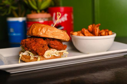 Burger poulet frit épicé - Spicy Fried Chicken Burger