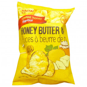 Haitai - Chips au beurre et miel / Honey butter chips