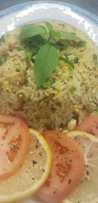 Curry Duck Fried Rice