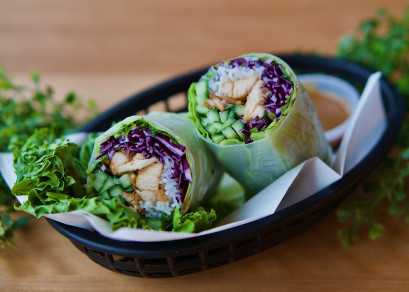 Rouleaux Poulet Gingembre / Ginger Chicken Roll