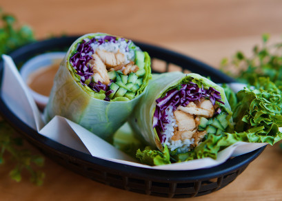 Rouleaux Poulet Cari / Chicken Curry Roll