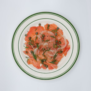 Accompagnement Saumon Fumé/ Side Smoked Salmon