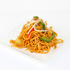 Singapore Noodles (Stir-fry vermicelle noodle with vegetables and curry)