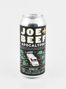 Bière Joe Beef Apocalypse beer, Natural Ale 4,6 % - 473ml