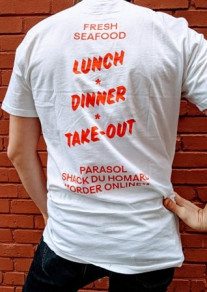 T-Shirt Parasol Barnacle Willy's