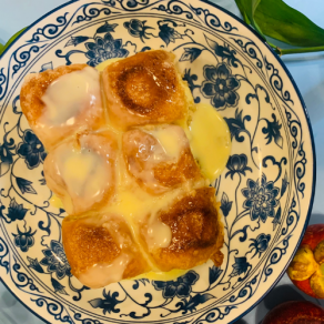 Thai Butter Toast with sweetened condensed milk