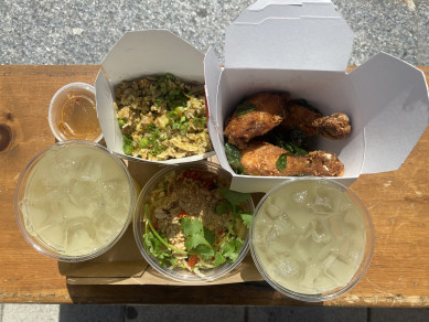 YUMMY BOX W/LEMONADE
