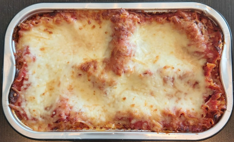 LASAGNA (1/2 pan - 10 x 6) for 2 to 3 people/ pour 2 a 3 personnes